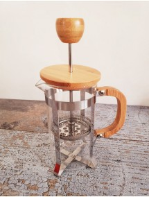 TOPTAN BAMBU KAPAKLI FRENCH PRESS